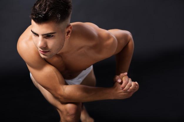 Un jeune homme Photo Premium