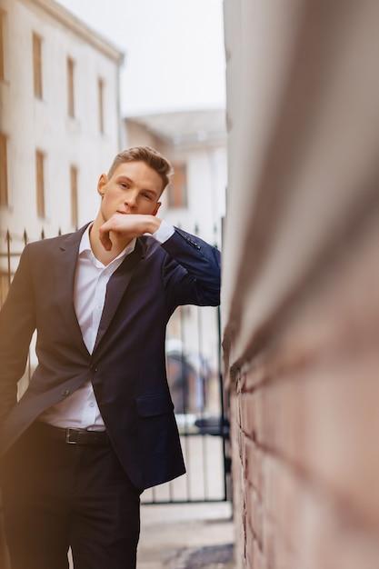 Jeune Mec élégant Photo Premium