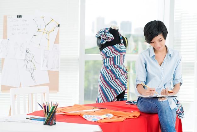 Jolie Fille Asiatique Photo Premium