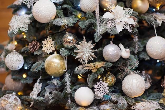 Jouets D'arbre De Noël Photo Premium