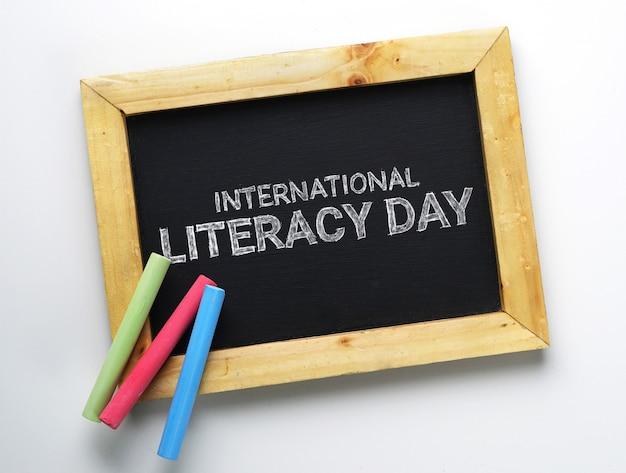 Journée internationale de l'alphabétisation Photo Premium