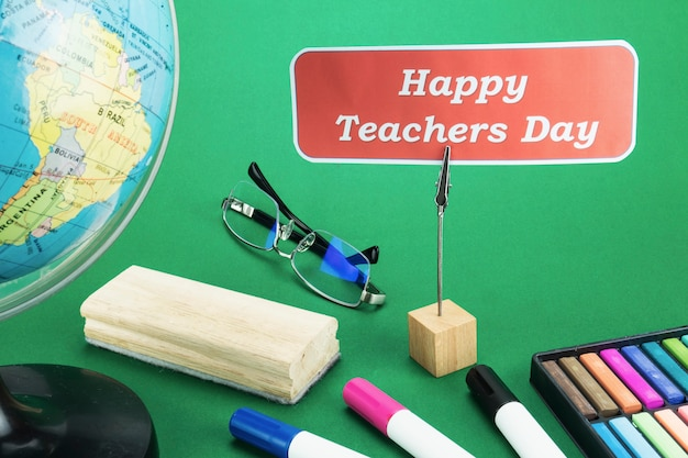 Journée mondiale des enseignants Photo gratuit