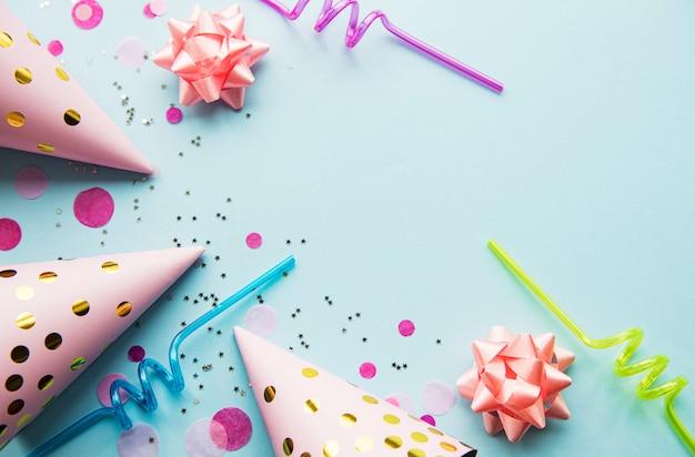 Joyeux Anniversaire Ou Fond De Fête Photo Premium