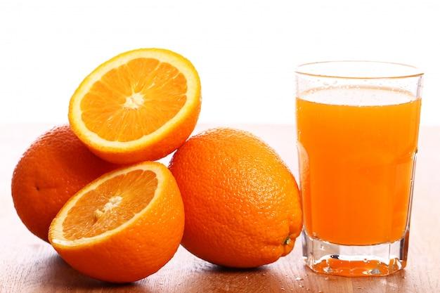 Jus D'orange Frais Photo gratuit