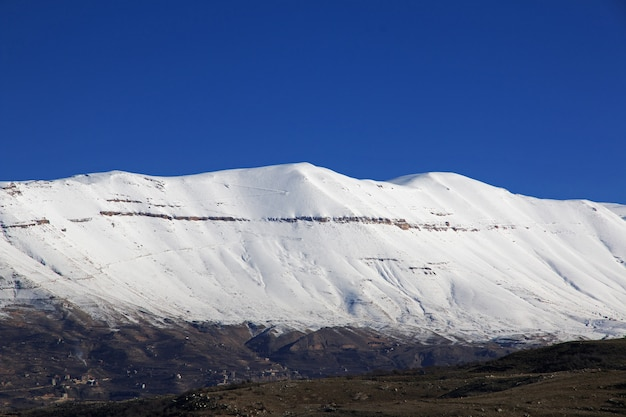 Kadisha Valley Dans Les Montagnes Du Liban Photo Premium
