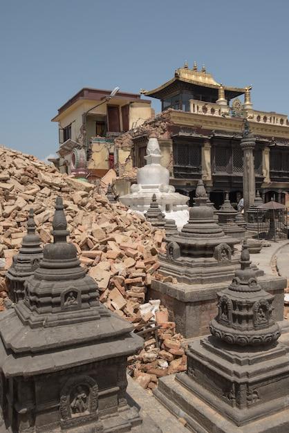 Katmandou, népal Photo Premium