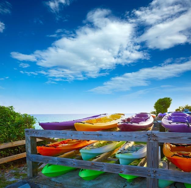 Kayaks des florida keys bahia honda park us Photo Premium