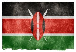 Kenya drapeau grunge texture Photo gratuit