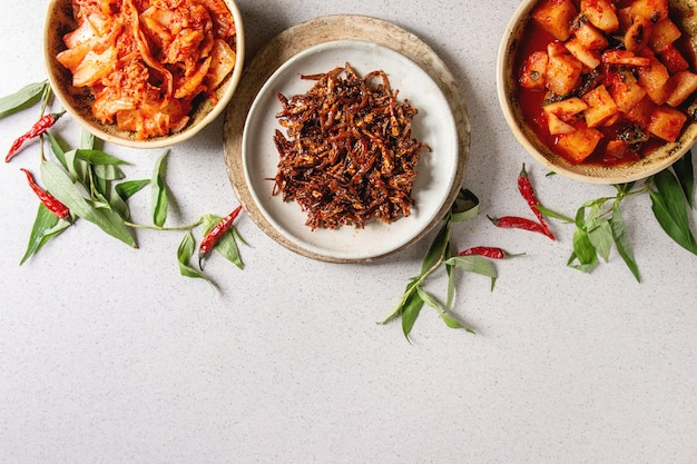 Kimchi apéritif coréen Photo Premium