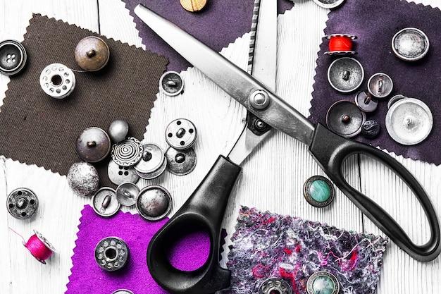 Kit outil pour coudre Photo Premium