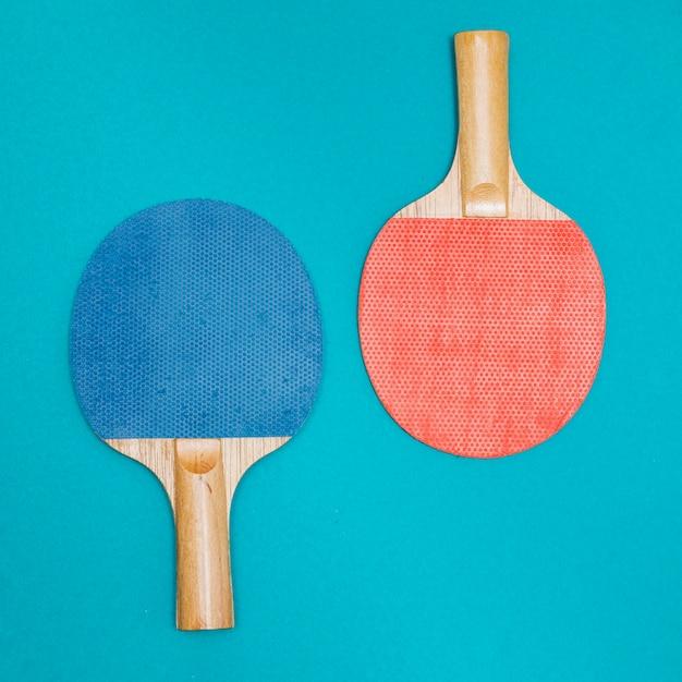 Kit de sport pour jouer au tennis de table Photo gratuit