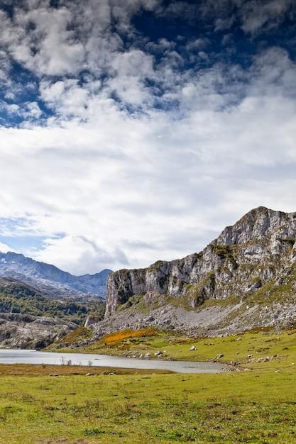 Lac ercina dans la nature Photo Premium