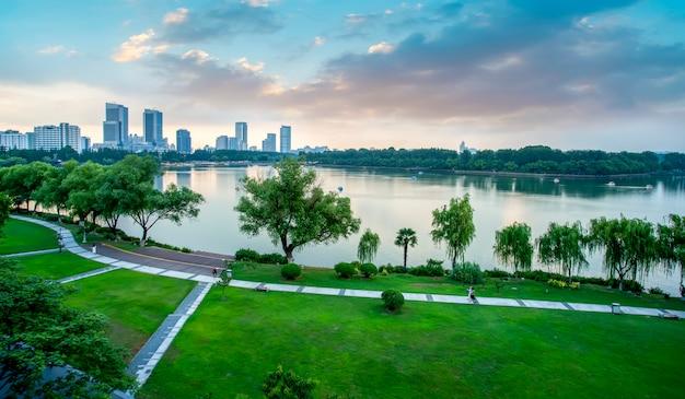 Lac nanjing xuanwu Photo Premium