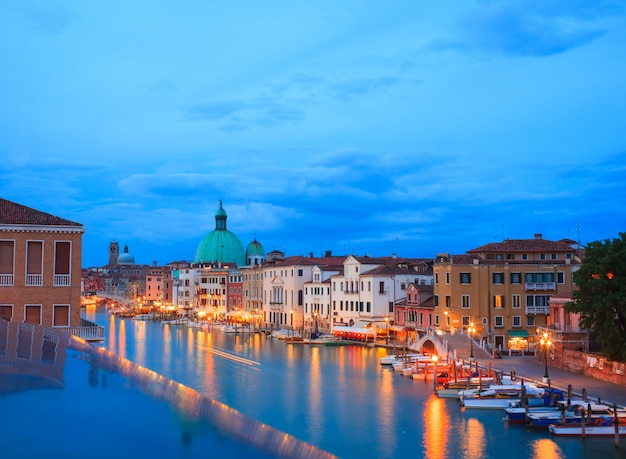 Lagune de venise Photo Premium