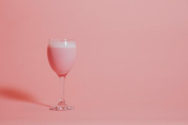 Lait fraise rose Photo gratuit