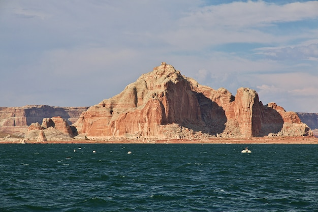Lake Powell En Arizona, états-unis Photo Premium