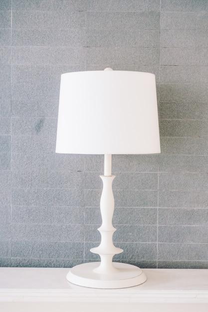 Lampe blanche Photo gratuit