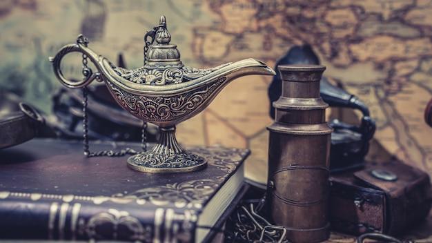 Lampe à Huile Aladdin Photo Premium