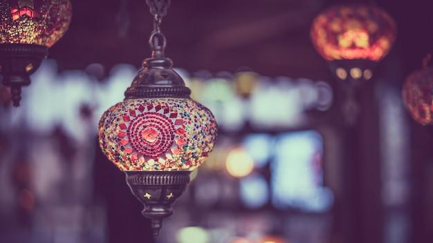 Lampe turque traditionnelle Photo Premium
