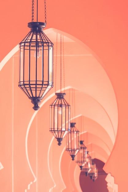 Lampe vintage style marocain Photo gratuit