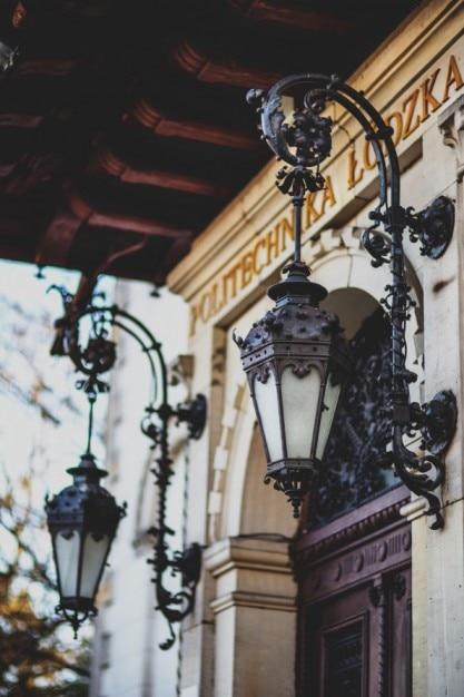 Lampes d'extérieur de nice Photo gratuit