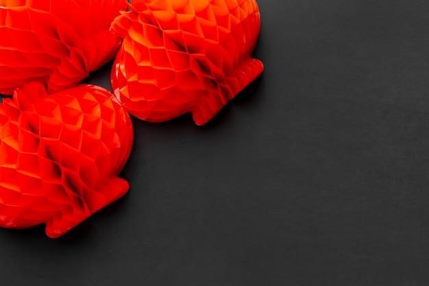 Lanternes Rouges Pour Le Nouvel An Chinois Photo gratuit