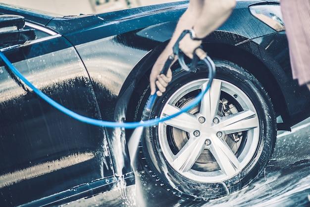Lavage automobile Photo gratuit