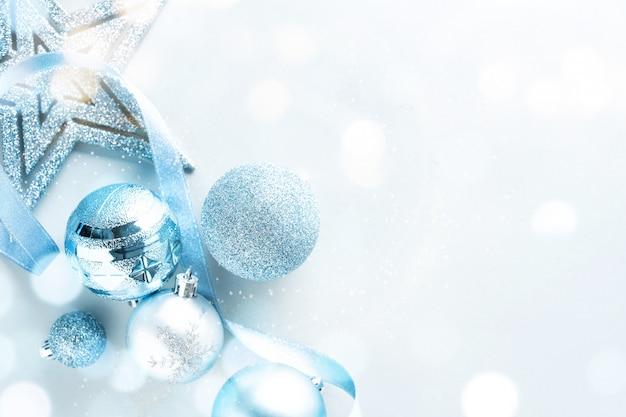 Lay De Noël Bleu Photo Premium