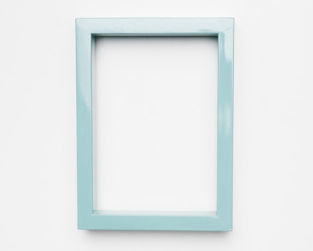Lay plat de cadre avec concept floral Photo gratuit