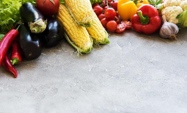 Légumes d'été frais Photo Premium
