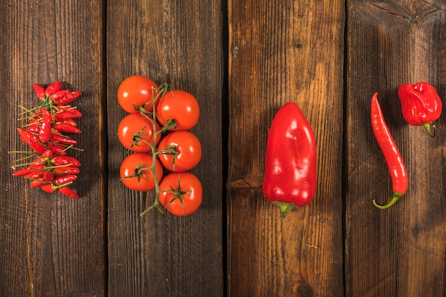 Légumes rouges Photo gratuit