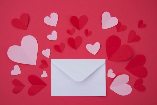 Lettre D'amour - St. Valentine Concept Photo gratuit