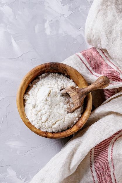 Le levain pour la cuisson du pain Photo Premium