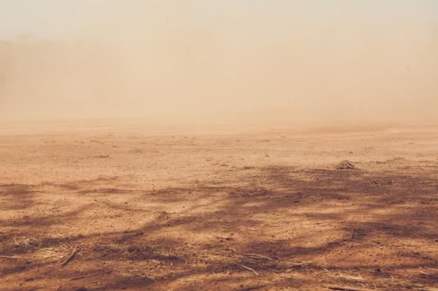 Un lieu plein de poussière Photo Premium