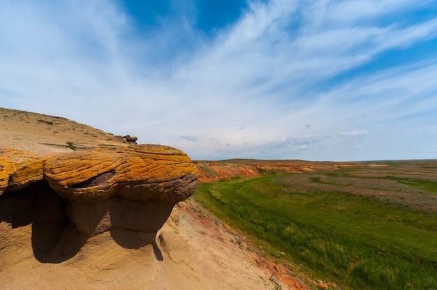 Lieux touristiques de la russie. beaux paysages du monde Photo Premium