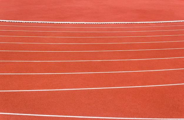 Ligne de piste de course Photo Premium