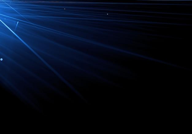 Lignes bleues streal fond d'écran Photo gratuit