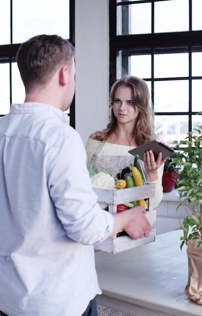 Livraison De Légumes Photo gratuit