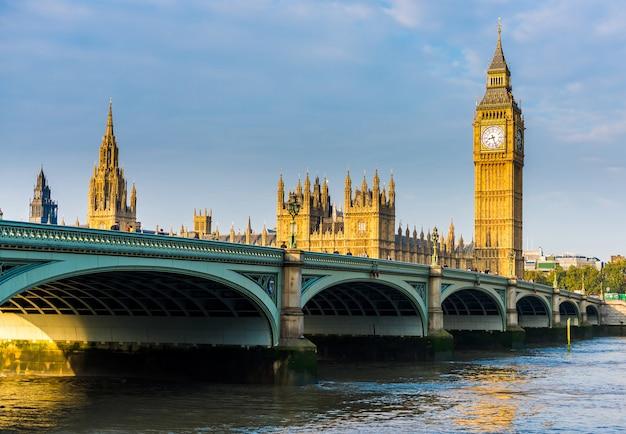 London city skyline, royaume-uni, Photo Premium