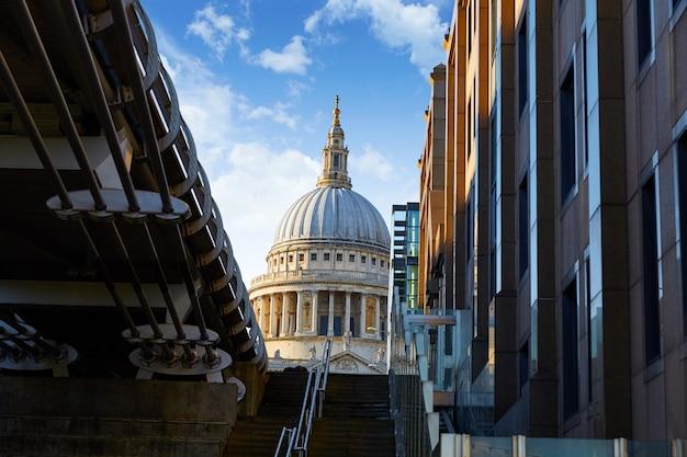 London st paul pauls cathédrale du millénaire Photo Premium