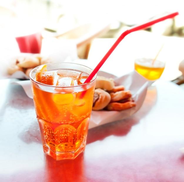 Long drink spritz Photo Premium
