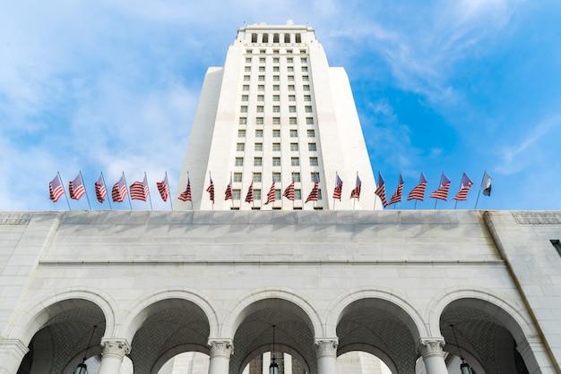 Los angeles city hall Photo Premium