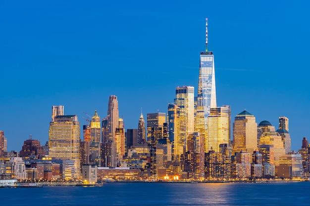 Lower manhattan new york Photo Premium