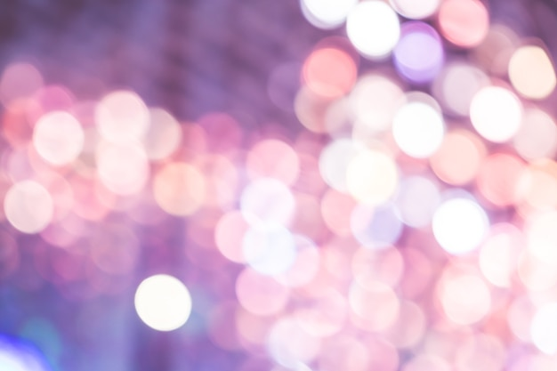 Lumière bokeh colorée abstraite Photo Premium