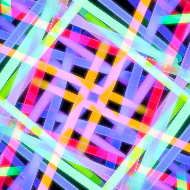 Lumière fluorescente abstraite sans soudure Photo gratuit