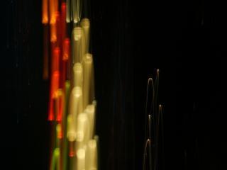 La lumière des lignes de fond Photo gratuit