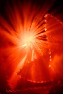 Lumières abstraites rouges Photo gratuit