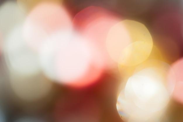 Lumières De Bokeh Abstraites Photo Premium