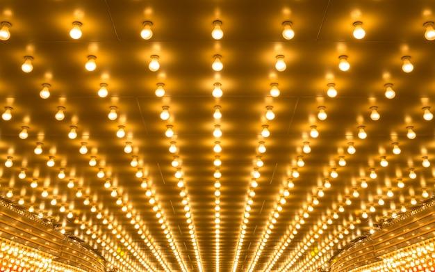 Lumières de chapiteau Photo Premium