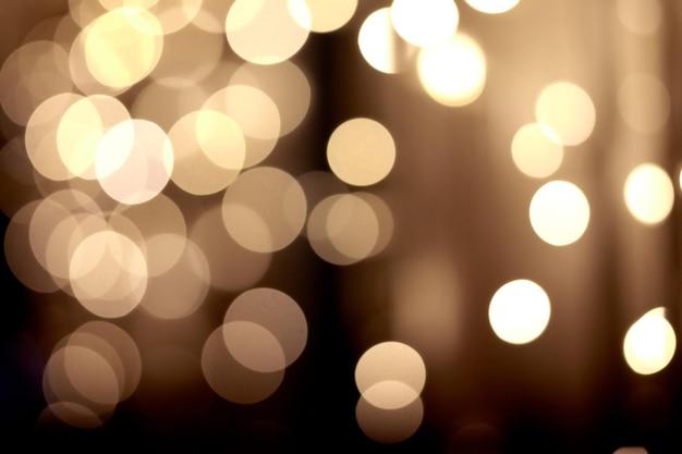 Lumières Défocalisées Bokeh Abstraites Festives Photo Premium